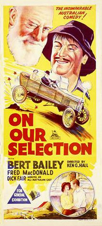On Our Selection (1932 film) - Image: On Our Selection Poster