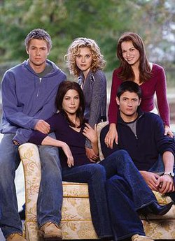 The original five from first to sixth season; Upper row (L-R) Lucas