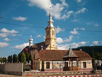 Săcele - Image: Orthodox Church from Satulung