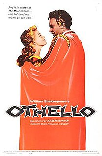 <i>Othello</i> (1956 film) 1955 film by Sergei Yutkevich