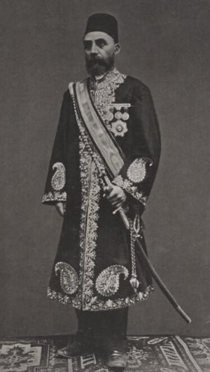 Hejaz Vilayet - Othman Pascha, governor of Hejaz from 1882 to 1886.