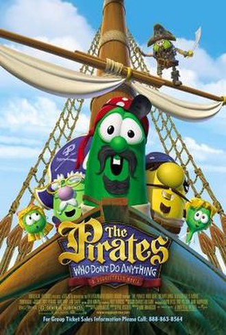 The Pirates Who Don't Do Anything: A VeggieTales Movie - Theatrical release poster
