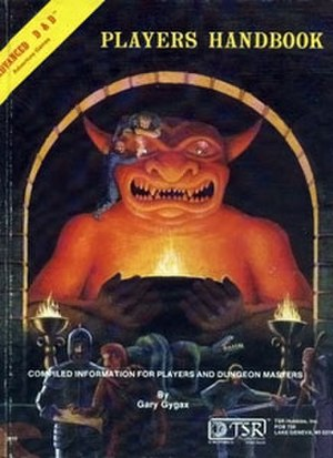 Editions of Dungeons & Dragons - Image: Players Handbook 8Cover