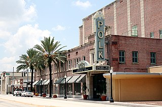 Polk Theatre (Lakeland, Florida) United States historic place