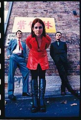 Pollyanna (band) - (L to R): Glenn Maynard, Stapleton, Handley. Melbourne, 1998