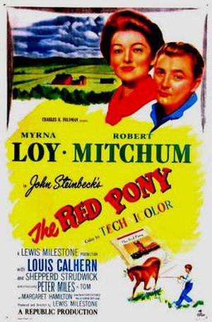 The Red Pony (1949 film) - Theatrical release poster