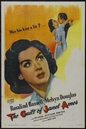 The Guilt of Janet Ames - Image: Poster of the movie The Guilt of Janet Ames