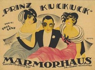 <i>Prince Cuckoo</i> 1919 film by Paul Leni