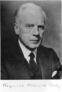 Reginald Aldworth Daly geologist