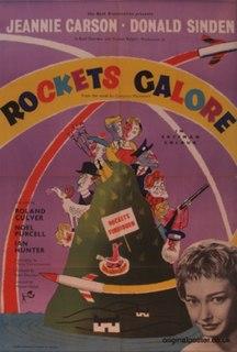 <i>Rockets Galore!</i> 1957 film by Michael Relph