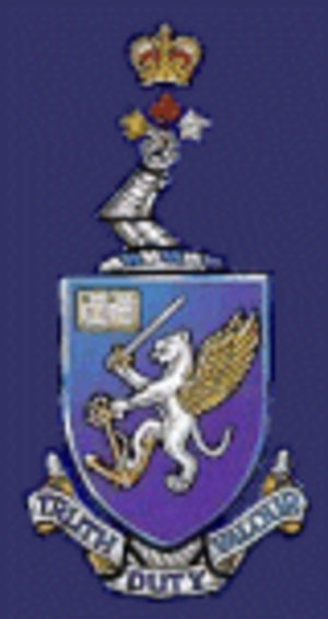 Royal Roads Military College - Royal Roads Military College Crest