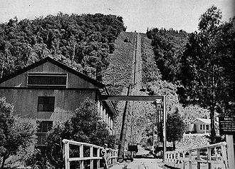 Rubicon Hydroelectric Scheme - Incline for the Rubicon Power Station