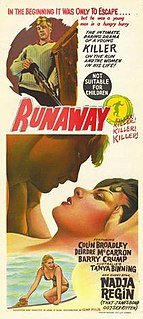 <i>Runaway</i> (1964 film) 1964 film by John OShea