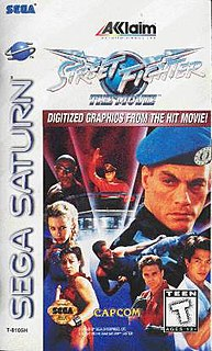 <i>Street Fighter: The Movie</i> (console video game) 1995 console fighting game