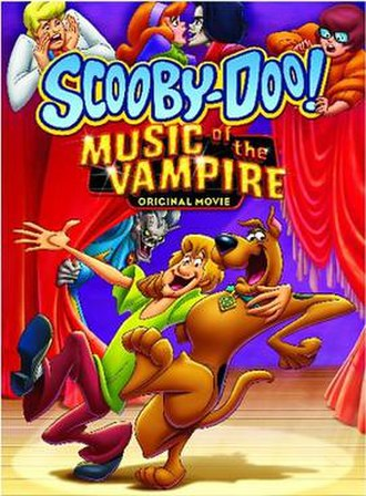 Scooby-Doo! Music of the Vampire - DVD cover