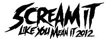 Scream It Like You Mean It Tour Logo 2012.jpg