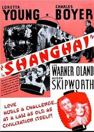 Shanghai (1935 film) - Image: Shanghai 1935 film poster