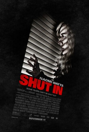 Shut In (2016 film) - Theatrical release poster