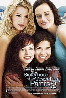 the sisterhood of the traveling pants 2 wikipedia