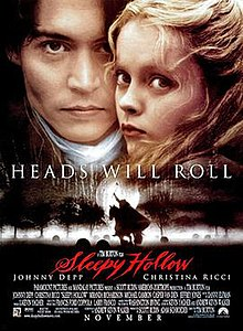 Image result for sleepy hollow movie cover