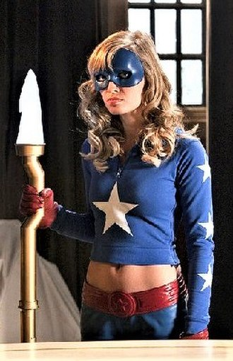 Courtney Whitmore - Britt Irvin as Courtney Whitmore/Stargirl on Smallville.