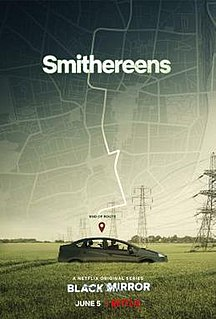Smithereens (<i>Black Mirror</i>) 2nd episode of the fifth season of Black Mirror