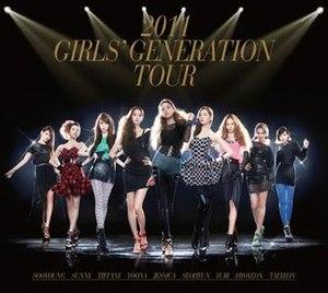 Girls' Generation Tour - Image: Snsd 2011concertalbum