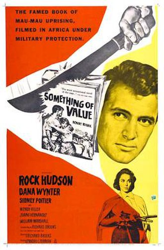 Something of Value - Theatrical poster