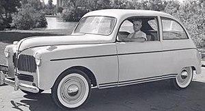 Fibre-reinforced plastic - Ford prototype plastic car