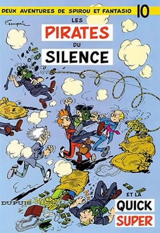 Les pirates du silence - Cover of the Belgian edition