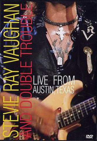 Live from Austin, Texas (Stevie Ray Vaughan video) - Image: Srvlivefromaustintex as
