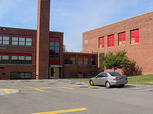 Morgantown, West Virginia - St. Francis High School building, 2006