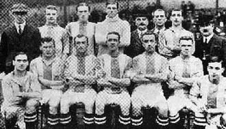 Stockport County F.C. - Photo of the 1913–14 Stockport County team