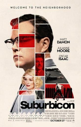Suburbicon - Theatrical release poster