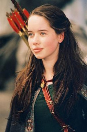 Susan Pevensie - Anna Popplewell as Susan Pevensie in the 2005 film, The Chronicles of Narnia: The Lion, the Witch and the Wardrobe.