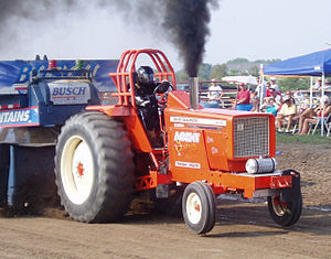 Tractor pulling - Allis Chalmers Diesel Pulling Tractor