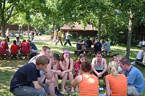 Taizé Community - Small discussion groups.