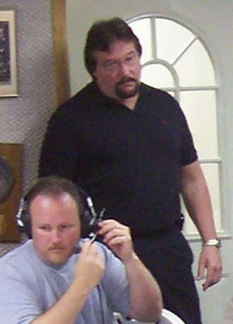 Ted DiBiase - DiBiase at a radio program on July 15, 2006 at the International Wrestling Institute and Museum.