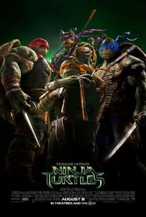 Teenage Mutant Ninja Turtles (2014 film) - Theatrical release poster