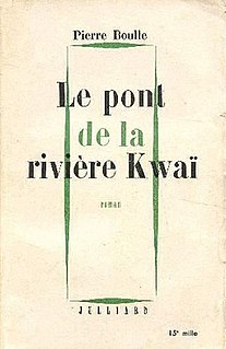 <i>The Bridge over the River Kwai</i> novel by Pierre Boulle
