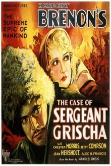 The Case of Sergeant Grischa Film Poster.jpg