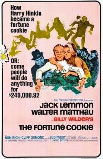 The Fortune Cookie - theatrical film poster
