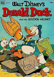 The Golden Helemt comic book cover by Carl Barks.jpg