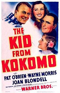 <i>The Kid from Kokomo</i> 1939 film by Lewis Seiler