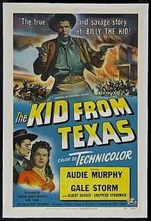 <i>The Kid from Texas</i> 1950 film by Kurt Neumann