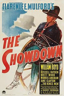 <i>The Showdown</i> (1940 film) 1940 film by Howard Bretherton
