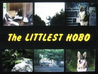 The Littlest Hobo - Title card of 1979-85 version