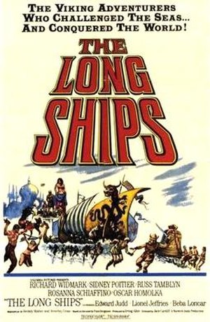 The Long Ships (film) - Original cinema poster