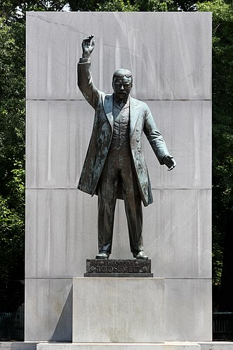 Theodore Roosevelt Island - Image: Theodore Roosevelt Statue by Paul Manship