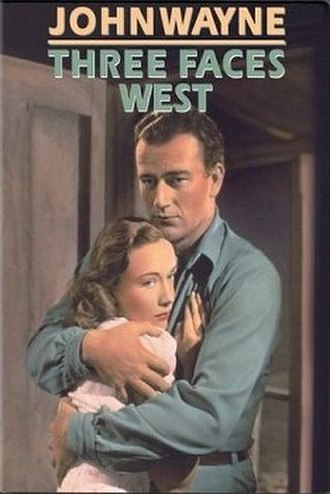 Three Faces West - DVD cover